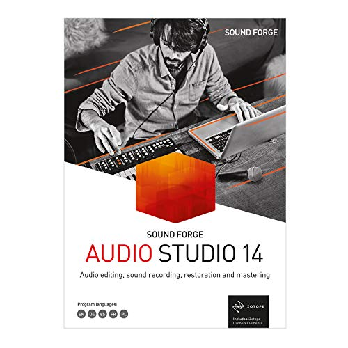 SOUND FORGE – Version 14 – Recording, Audio Editing, Restauration und Mastering. | Audio Studio | PC | PC Aktivierungscode per Email