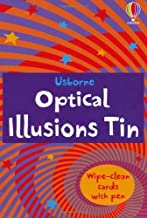 Optical Illusions Tin (Usborne Activity Tins) by Sam Taplin (2012) Hardcover