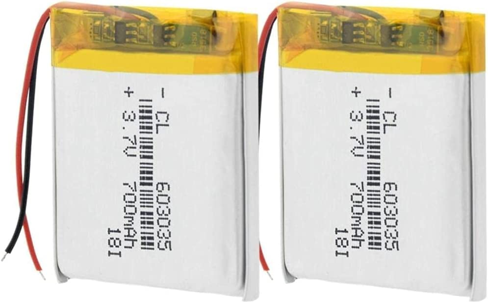 Li Po Battery 3.7V 603035 with Char Polymer Rechargeable Tucson Mall Discount mail order Lithium