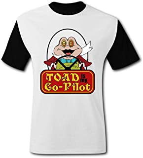 ETJIJCKDI Mens Mr Toads Wild Ride Tshirt Short Sleeve Tee Shirts