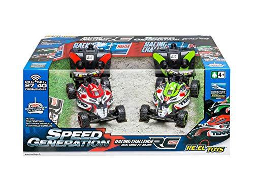 Re.El Toys Supersfida Radiocomando Racing Challenge F1 Mezzi Giocattolo Auto, Multicolore, 8001059021604