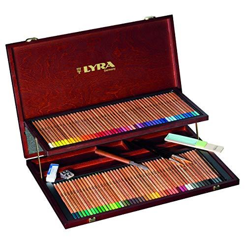 Lira Watercolor Pencil Aquarel Wood Box L2014200