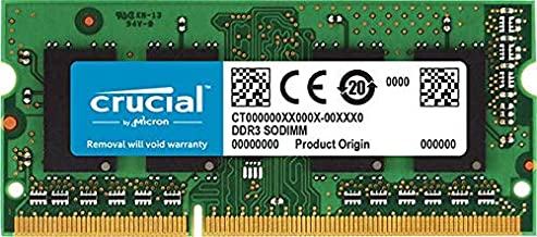 Crucial 4GB Upgrade for a Lenovo ThinkPad T510 Series System (DDR3 PC3-12800, Non-ECC,)
