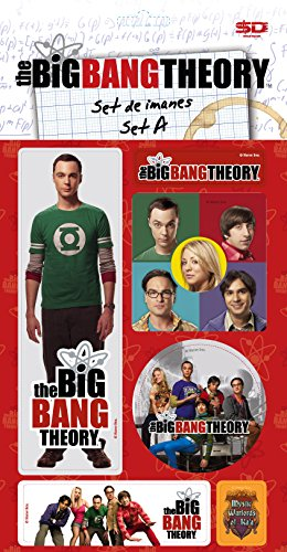 SD Toys sdtwrn27487 The Big Bang Theory Aimants Set A