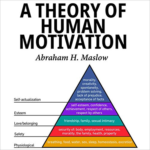 A Theory of Human Motivation cover art