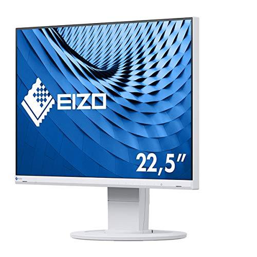 EIZO FlexScan EV2360-WT 57,2 cm (22,5 Zoll) Ultra-Slim Monitor (HDMI, D-Sub, USB 3.1 Hub, DisplayPort, 5 ms Reaktionszeit, Auflösung: 1920 x 1200) weiß