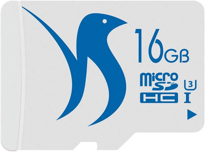 FATTYDOVE Micro SD Card 16GB 2-Pack Micro SDHC U3 C10 with SD Adapter High Speed Memory Card Class 10 UHS-3 Full HD Video(16GB U3 2 Pack)