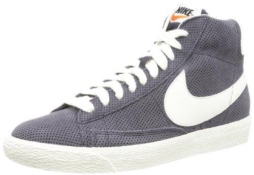 Nike Blazer Mid Premium Vintage Suede 538282 Herren Marine/Weiß 43