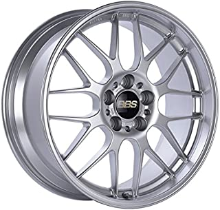 BBS RGR Silver Wheel with Painted Finish (18 x 8.5 inches /5 x 120 mm, 22 mm Offset)