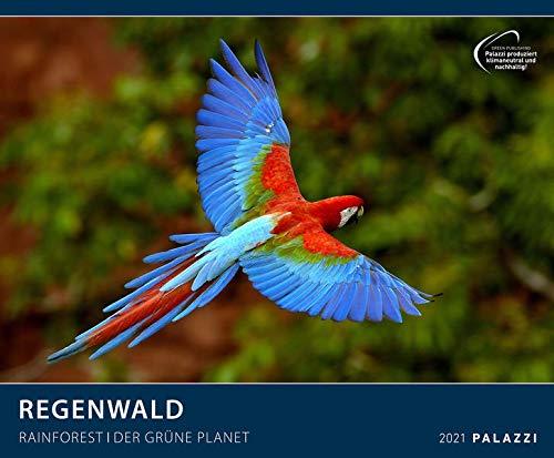 Regenwald 2021 - Bild-Kalender - Wand-Planer - 60x50