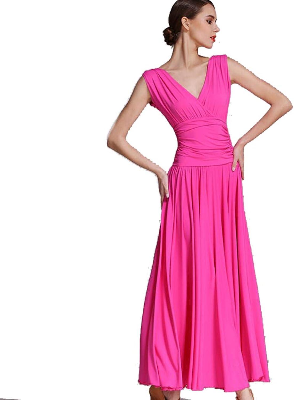 ZYLL Waltz Dance Skirt Dress Women's Ballroom Dance Competition Dress Dancing Costumes Expansion Skirt for Women Tango