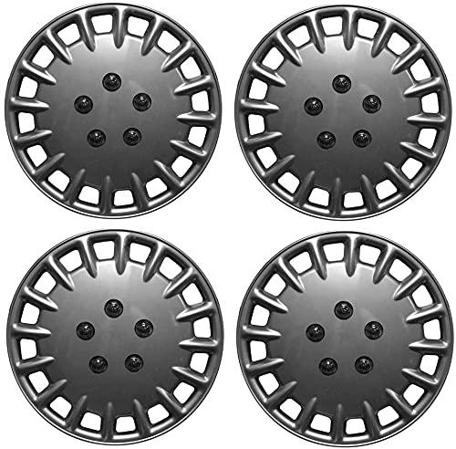 Set de 4 Automotive Tapacubos para CITROEN C3, 14' Hermosos Accesorios Decoración Modificados