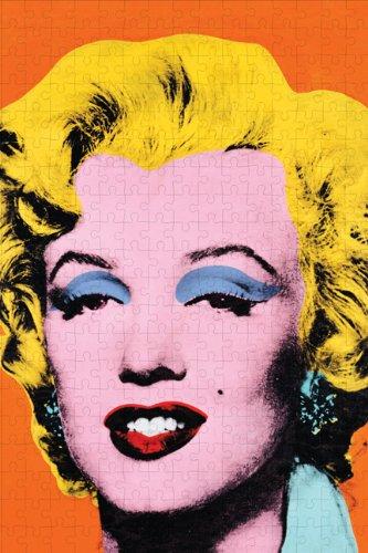 Mudpuppy - Andy Warhol, puzzle con diseño Marilyn (MPAW38715)