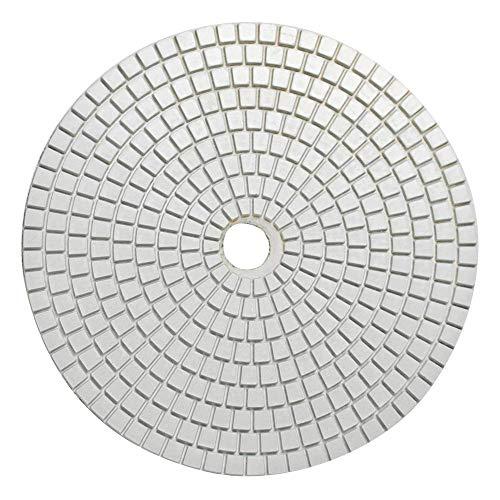KingBra mokry granit diamentowe podkładki polerskie 7 cali / 180 mm do szlifierek betonowych marmur blat podłoga szkło kwarc polerowanie (ziarnistość 150)