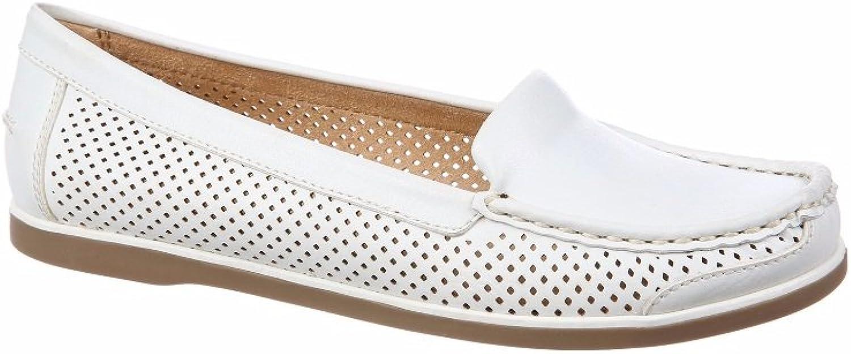Naturalizer Woherren Henrick Comfort schuhe schuhe schuhe Round Toe Loafer (8.5 M US, Weiß) ead