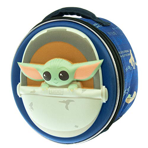 Star Wars The Mandalorian The Child Baby Yoda Molded Lunch Tote