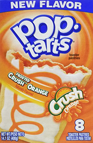 Pop-Tarts Kellogg's, Orange Crush, 14.1 Ounce (Pack of 12)