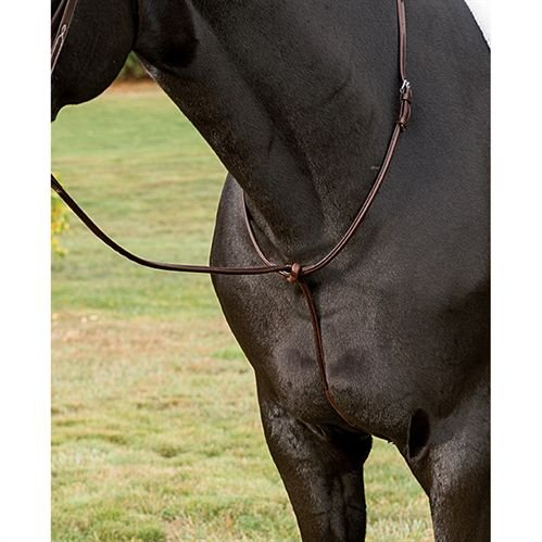 Ovation Fancy-stitched Martingale Brown Horse-full Size