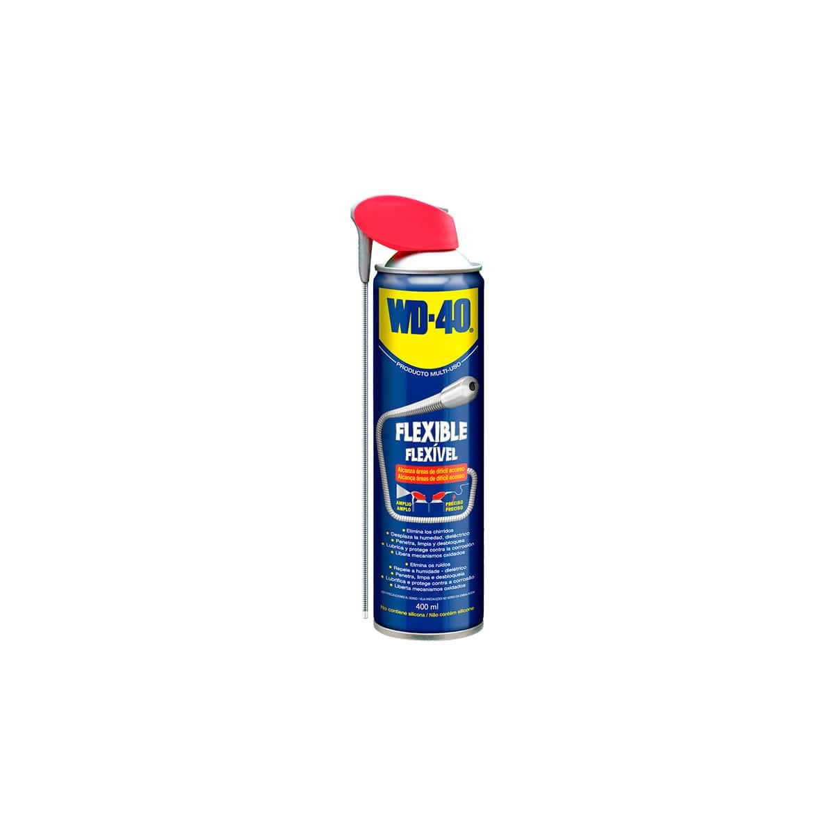 WD-40 - Spray lubricante Multiuso Flexible 400 ml (Caja 6 uds): Amazon.es: Electrónica