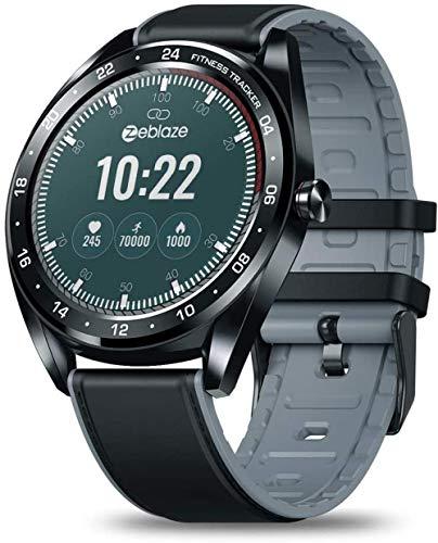 JSL Reloj inteligente Bluetooth con pantalla táctil de círculo completo, esfera delgada, pantalla táctil completa de 1,3 pulgadas, monitor de actividad física