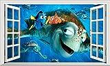 Chicbanners V005 Wandtattoo, Motiv Findet Nemo Findet
