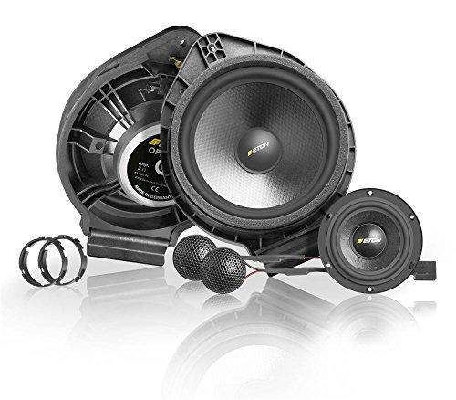 Eton UG Opel F2.1 16,5 cm - 2-Wege Lautsprechersystem Upgrad SET für Opel Astra J Fronteinbau 80 Watt