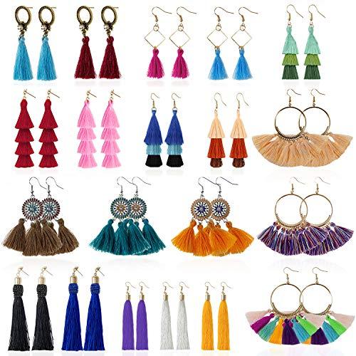 (50% OFF) 20 Pairs Tassel Earrings $8.30 – Coupon Code
