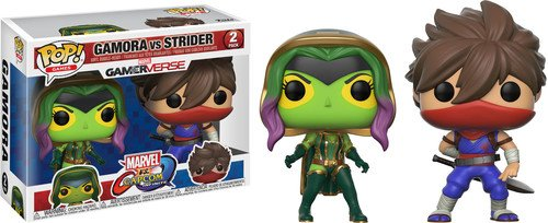 Pack Pop! Marvel Vs Capcom Infinite - 2 Figuras Gamora Vs. Strider