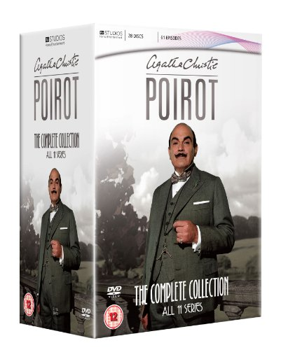 Agatha Christie Poirot: The Complete Collection - All 11 Series (Region 2)