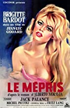 Pop Culture Graphics Contempt Poster Movie Foreign 11x17 Brigitte Bardot Jack Palance Fritz Lang Georgia Moll