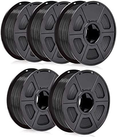 PLA 3D Printer Filament 1 75mm SUNLU PLA Filament Dimensional Accuracy 0 02 mm Black PLA 1 75 product image