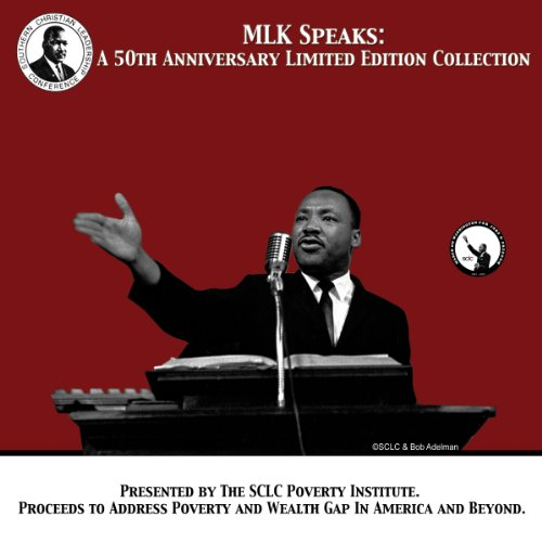 Couverture de MLK Speaks: A 50th Anniversary Limited Edition Collection