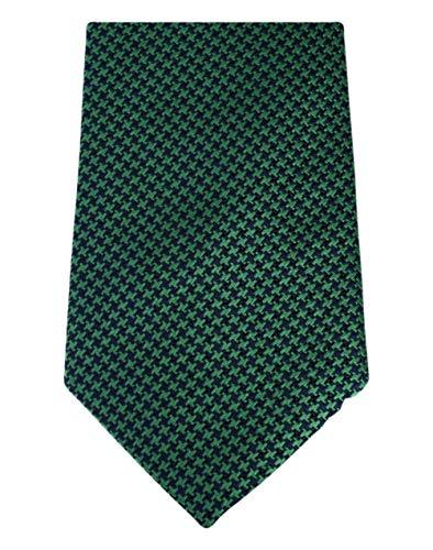 David Van Hagen Vert/Marine poule cravate de