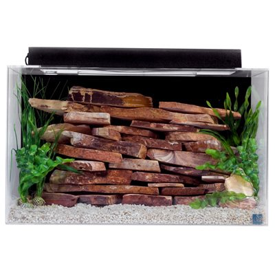 SeaClear 29 gal Show Acrylic Aquarium Combo Set, 30 by 12 by 18