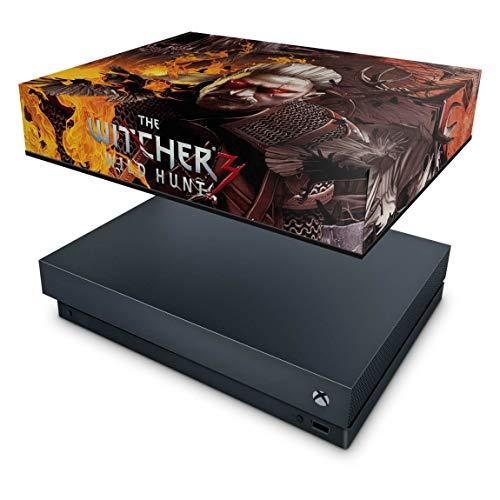 Capa Anti Poeira para Xbox One X - The Witcher 3#B