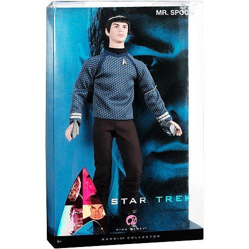 Mattel Barbie Pink Label Collection Star Trek Mr Spock