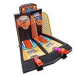 Keenso Juego Mini Tabletop Basketball, Interaction Toy Tabletop Game Desktop Basketball Toys Set Adult Kids Baloncesto Toys Set Parent Child