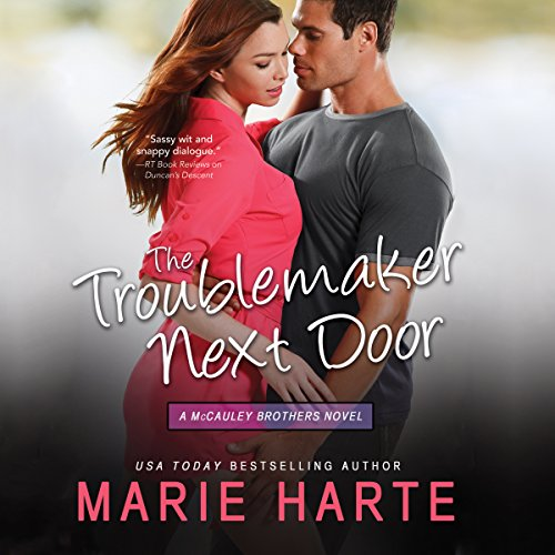 The Troublemaker Next Door audiobook cover art