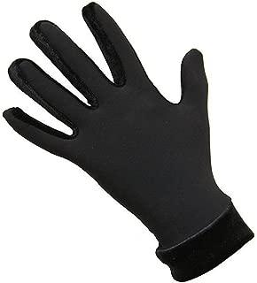 IceDress Thermal Figure Skating Gloves with Velvet (Black)