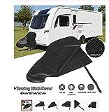 Cubre Lanza para caravanas y remolques Impermeable, Resistente Proteccion Total Enganche y Conector de CHPYHOME50