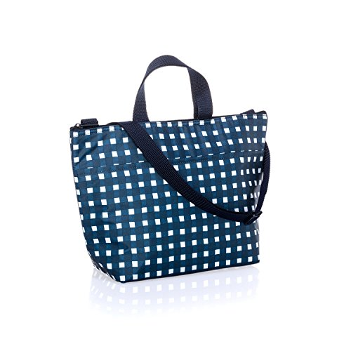 Thirty One Crossbody Thermal Tote in Goin' Gingham - No Monogram - 9068