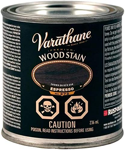 236mL Bombing free shipping Premium Ranking TOP16 Espresso Wood Stain Alkyd