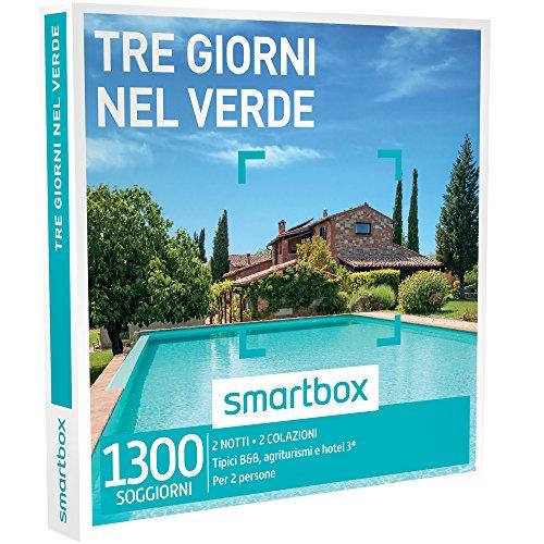 Smartbox - Tre Giorni Nel Verde - 1300 Soggiorni In Case Tipiche, Agriturismi e Hotel 3*, Cofanetto Regalo
