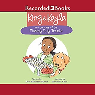 King & Kayla and the Case of the Missing Dog Treats                   By:                                                                                                                                 Dori Hillestad Butler                               Narrated by:                                                                                                                                 Kevin R. Free                      Length: 12 mins     2 ratings     Overall 4.0
