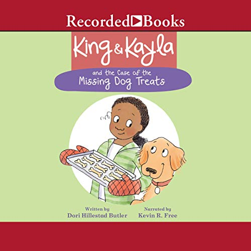 King & Kayla and the Case of the Missing Dog Treats audiobook cover art