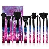 Set de Brochas de Maquillaje 12 unids Starry Series Multi-función de Maquillaje de Cara Mezcla de Sombra de Ojos Fan Kit de Cepillos con Caja