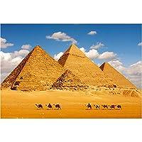 1000ピース世界的に有名な建築観光名所ジグソーパズル - すべての作品が一緒に完璧なユニークな作品フィットで、エジプトのピラミッド (Size : 1000pieces)