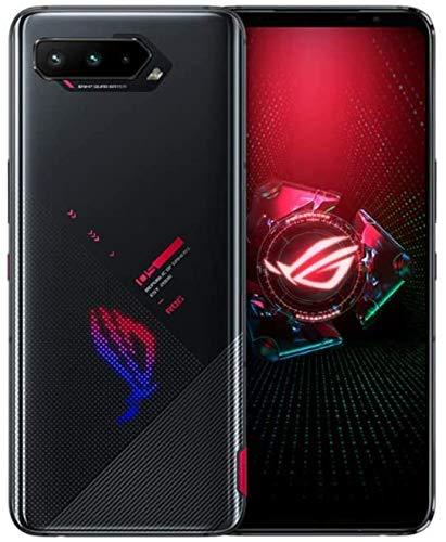 Asus ROG Phone 5 SD888 5G 256GB 16GB RAM ファクトリーアンロック (GSM のみ CDMAなし - Verizon/Sprintとの互換性なし) インターナショナル バージョン - ファントム ブラック