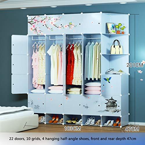 Lowest Prices! Ultra Time Empty Wardrobe Clothes Portable Wardrobe Closet Modular Storage Organizer ...