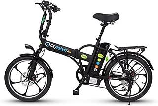 Green Bike Electric Motion City Hybrid HD